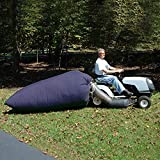 Lifesmells Lawn Tractor Leaf Bag,Lawn Sweeper Tow Behind,Reusable Collecting Leaves Waste Bag,Mower Leaf Bag,Fit for Cub Cadet XT1 LT42, XT1 LT46, XT2 LX42, XT2 LX46,54 Cubic Feet Navy Blue