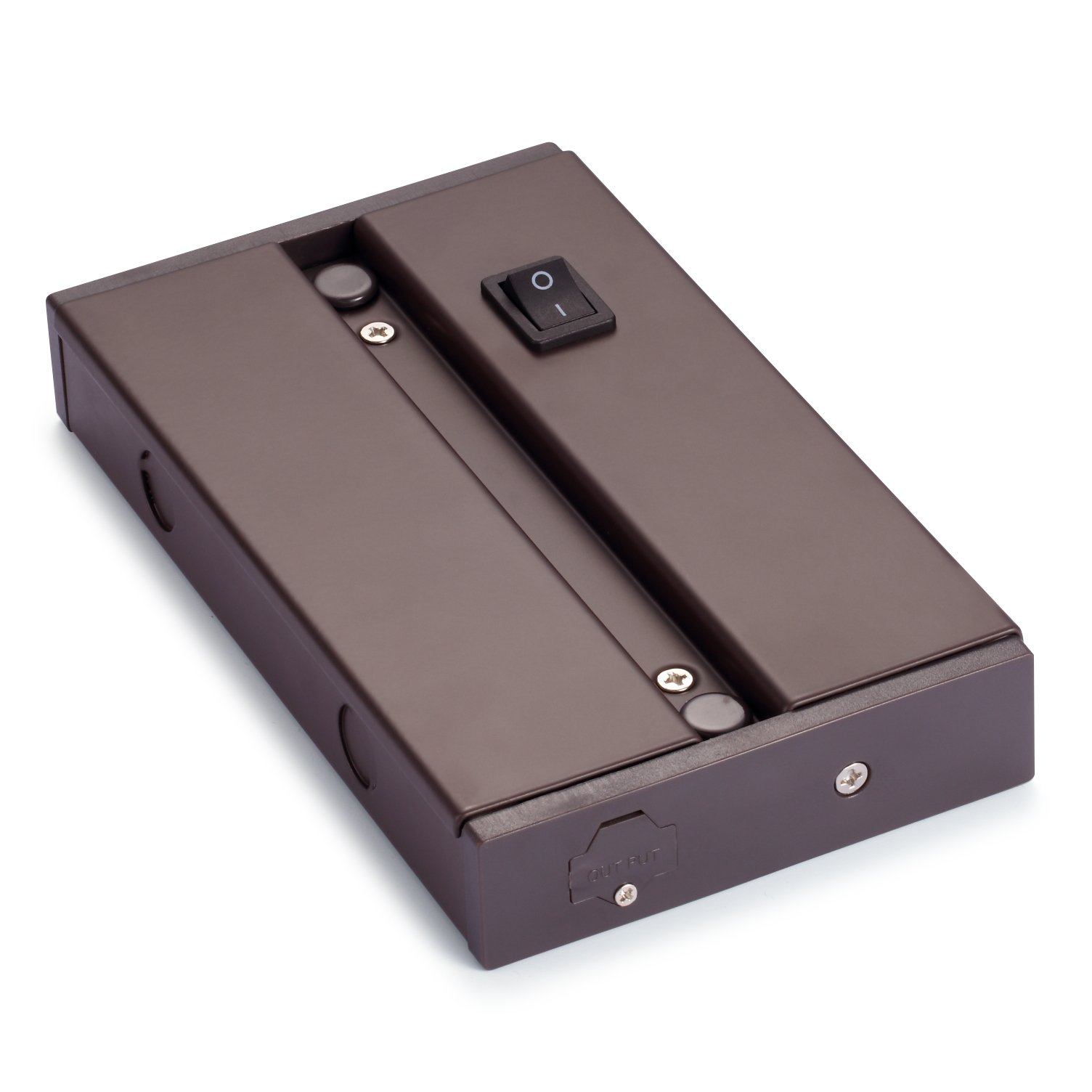 GetInLight Junction Box for IN-0201, IN-0202, IN-0207 and IN-0210 Series, Metal Material, IN-0501-2-BZ