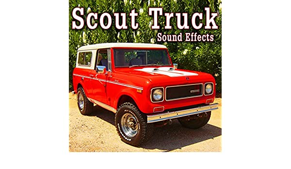 Scout Truck Starts and Drives Away Fast, From Rear Perspective Take 2 de The Hollywood Edge Sound Effects Library en Amazon Music - Amazon.es