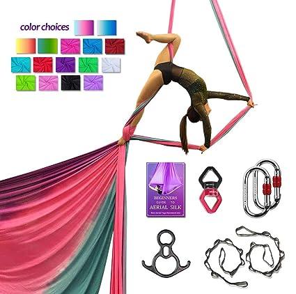 SYCYKA Juego de Accesorios de Seda para Antena de Yoga ...