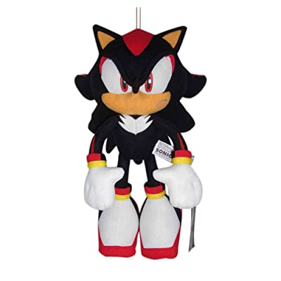 Great Eastern Sonic The Hedgehog Plush-12 Shadow (GE-8967): Toys & Games