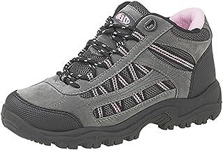 Dek - Stivali da trekking per donna, taglie varie, colore rosa/grigio