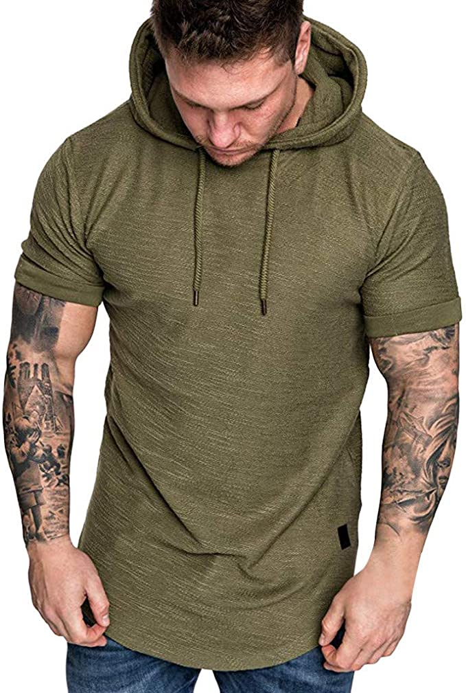Never Understand an Old Man with A Jeep Back Print Hooded Long Sleeve Men