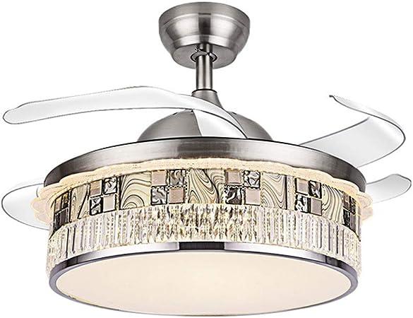 DEI QI Luz de Ventilador de Techo Modernas lámparas de Techo ...