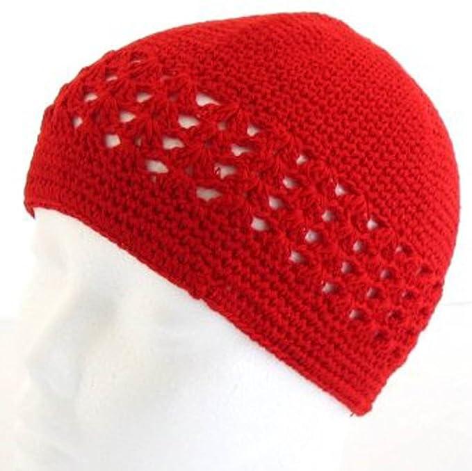 Amazon Knit Kufi Hat Koopy Cap Crochet Beanie Navy Clothing