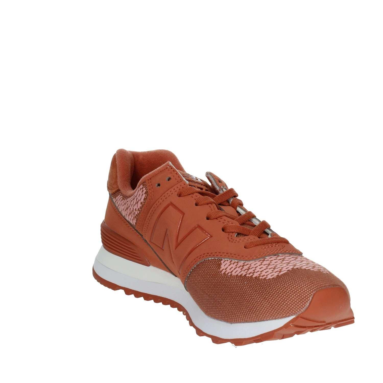 New Balance WL574FAD Turnschuhe Damen Orange Orange Orange 40 8bb5da