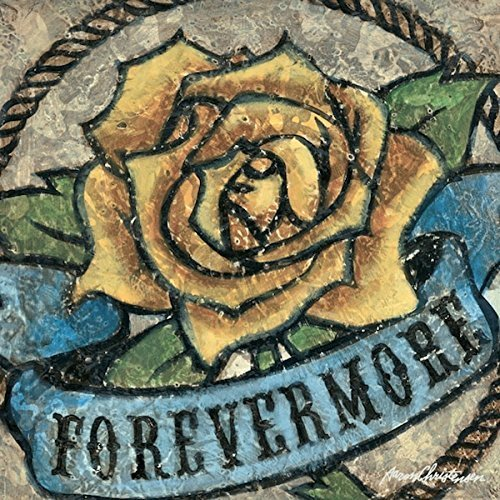 yellow Rose of Texas Forevermore Wall Art Decor-