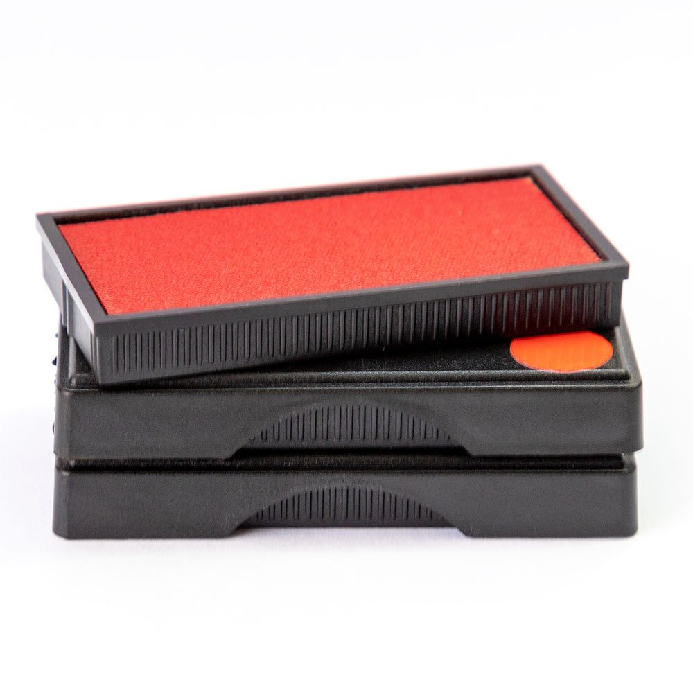 Vivid Stamp Q-300 Large Replacement Ink Pad - (3 Pack) - Red by Vivid Stamp
