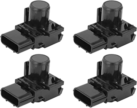 Set of 4 PeakCar Parking Assist Sensor Shell 39681-TL0-G01 89348-33080-C0 Replacement for 2013 Acura ZDX 2011-2017 Honda Odyssey 2010-2015 Honda Pilot 2007-2013 Toyota Tundra