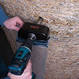 "Agratronix Hay Core Sampler From Bale To Bag With No Mess Or Contamination Use With Either 3/8"" Or 1/2"" Drill Sample Depth 20"""