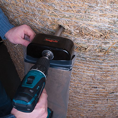 Agratronix Hay Core Sampler From Bale To Bag With No Mess Or Contamination Use With Either 3/8