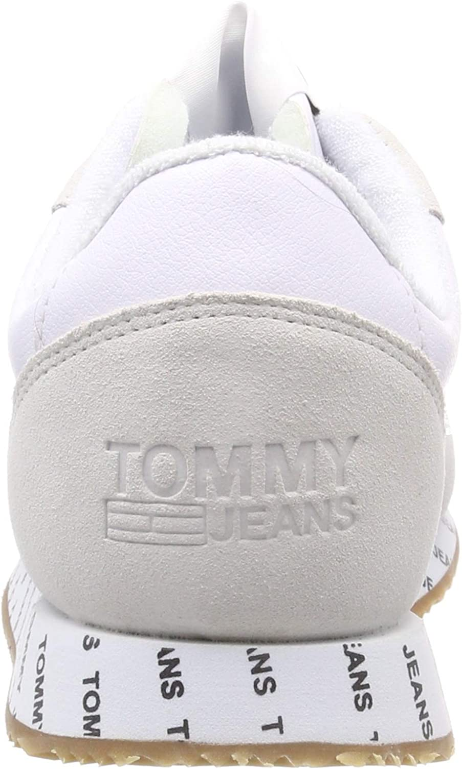Tommy Jeans Casual Sneaker, Sneakers Basses Femme Blanc White 100