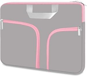 HESTECH Chromebook Case,11.6-12.3 Laptop Sleeve Neoprene Computer Handbag Protective Cover for Acer R11/Spin 311/HP Stream/Samsung/Surface X/7/6/5/4/3/Go 12.4