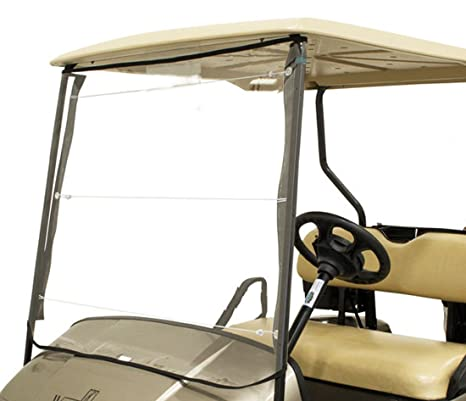Amazon.com: ZaZaTool Portable Roll Up Golf Cart Universal Windshield on