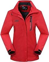 Geval Women's Waterproof Soft Shell Jacket Windproof Mountain Jacket