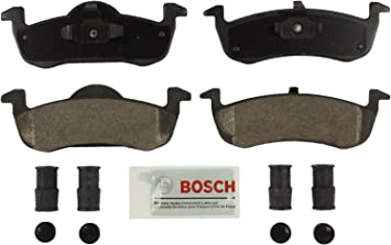 Rear Ceramic Brake Pads w//Hardware for 2007-2017 Ford Expedition Navigator