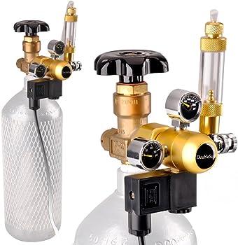 DoubleSun CO2 Aquarium Regulator with Solenoid