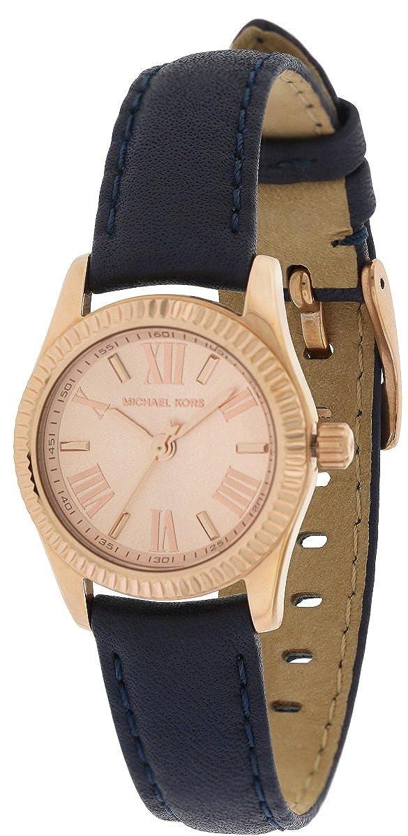 843098e325a8 Amazon.com  Michael Kors Women s Lexington Mini Navy One Size  Watches