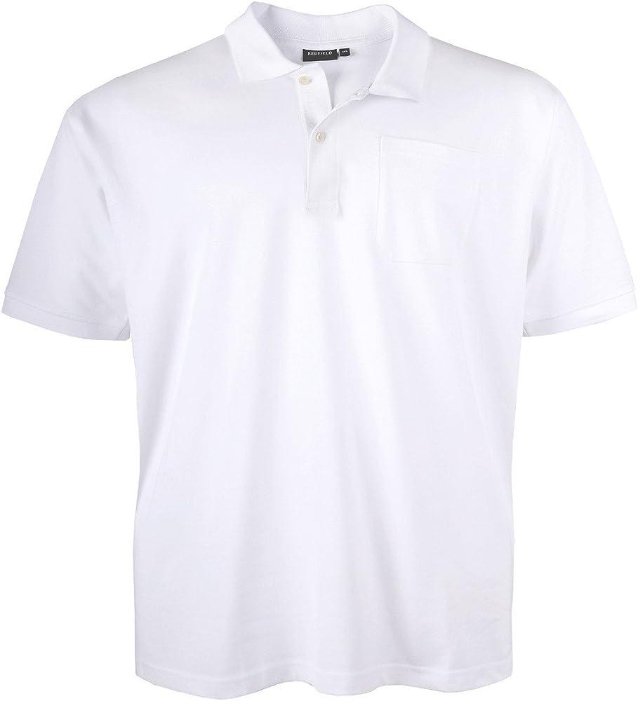 Redfield Polo Piqué Oversize Blanco, 2xl-10xl:10xl: Amazon.es ...