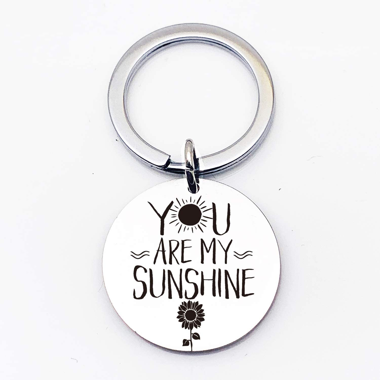 com inspirational motivational quotes stainless steel key