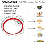 Silicone Sealing Ring 6qt for Instant Pot Sealing