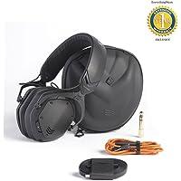 V-Moda Crossfade II Wireless Over-Ear Headphone Matte Black with 1 Year Free Extended Warranty