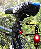 Black Friday Deal Gilramco USB Rechargeable Bike Tail Light, RED Rear Bicycle Safety LED Light - 100% Satisfaction Guarantee!