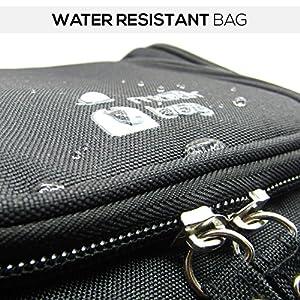 Mister Bag Hanging Toiletry Bag Travel Organizer Bathtoom Toiletries Bag Water Resistant with Mesh Pockets - for Bathroom Accessories Dopp / Shaving Kit, Liquids | TSA Compliant
