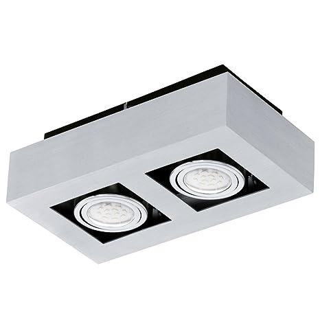 Bauhaus Foco (Cultivo de 2 focos) lámpara de interior Piso ...