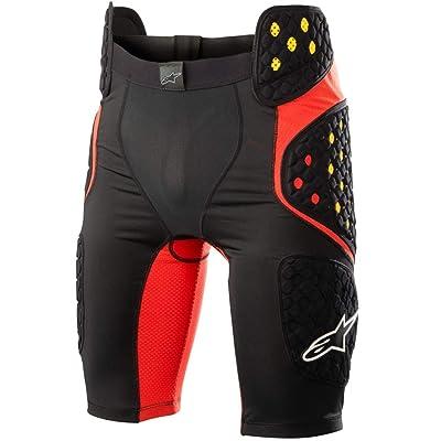 Alpinestars Men's Sequence Pro Motorcycle Riding Short, Black/Red, Medium: Automotive