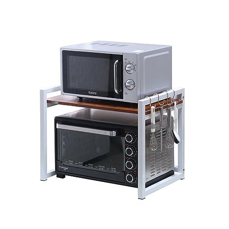 Multifuncional Horno de Microondas Rack Kitchen 2-Tier Pot ...