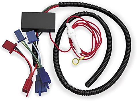 show chrome 52 694 electronic wire harness 2001 2010 honda goldwing gl1800 4 pin wiring harness show wiring harness #1