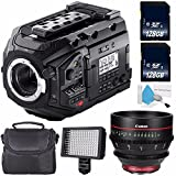 Blackmagic Design URSA Mini Pro 4.6K Digital Cinema Camera #CINEURSAMUPRO46K + Professional 160 LED Video Light Studio Series + Canon CN-E 50mm T1.3 L F Cine Lens (International Model) Bundle