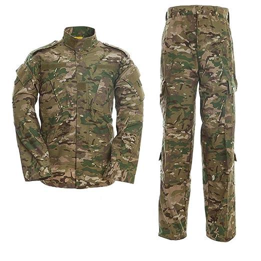 Airsoft Camisa Y Pantalones De Traje, Camuflaje Camo Combat BDU ...