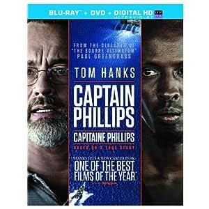 Captain Phillips [Blu-ray + DVD + UltraViolet Copy] (Bilingual)