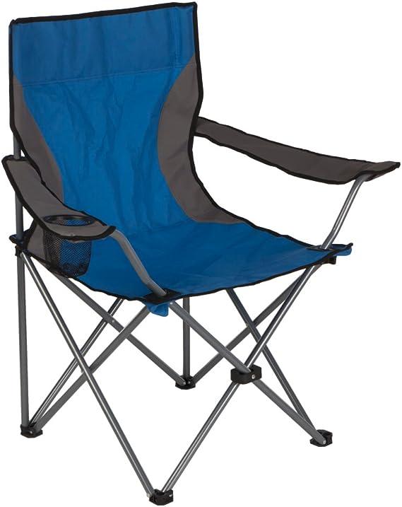Aktive - Silla plegable de camping, 53 x 53 x 88 cm (52741)