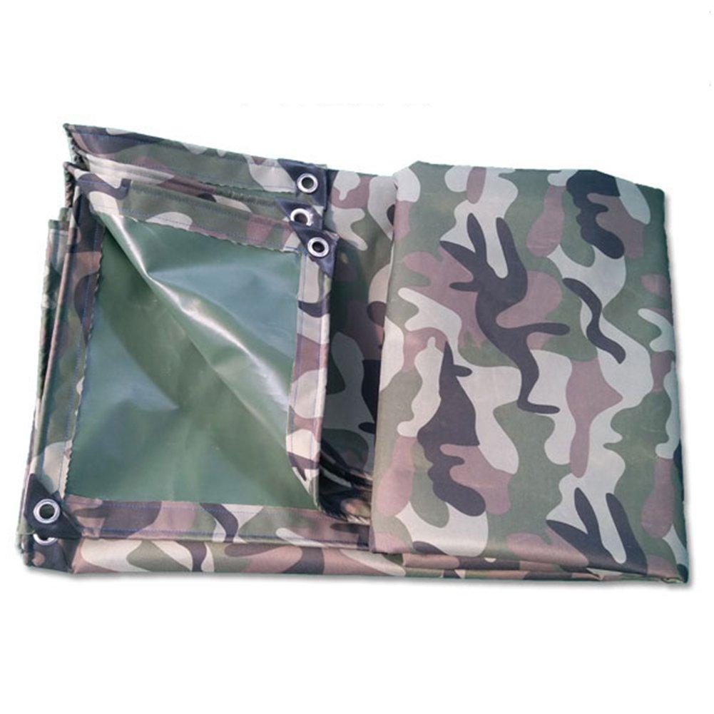 Regenschutz Wasserdicht Camouflage-Plane, regendichtes Sonnenschutz-Lagerfrachtsonnenschirm-Staubhallengewebe, haltbare Antioxidation (Farbe   A, Größe   3 x 6m)