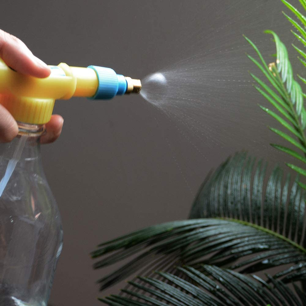 2 Pack - Easy to Use Universal Bottle Sprayer with Adjustable Nozzle for Garden, Nursery and Indoor Plants Watering