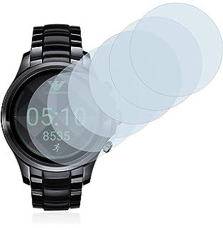 Savvies Protector de Pantalla para Emporio Armani Connected Touchscreen 5000-Series [6 Unidades]