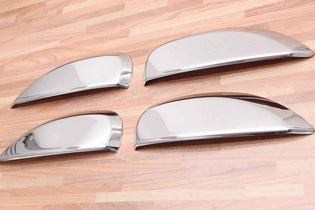 Maniglie cromate per Porta Stepway in Acciaio Inox Dacia Logan//Sandero II 2 dal 2013