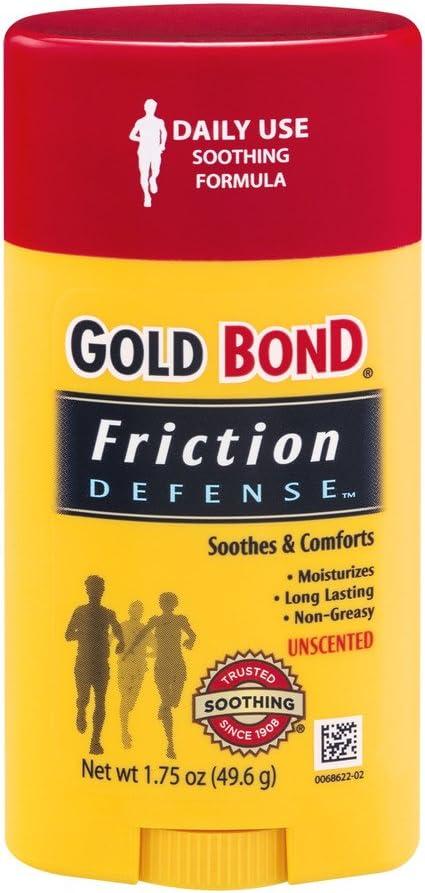 GOLD BOND Friction Defense Unscented, 1.75 Oz (2 Pack)