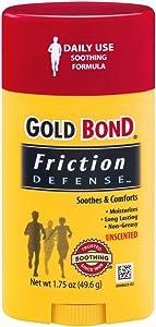 Gold Bond Friction Defense Stick Unscented, 1.75 Oz (Pack of 2)