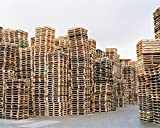 30x40 in. Simon Carruthers Untitled (Pallets)