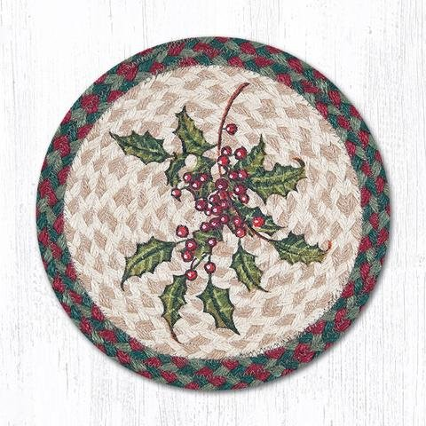 Earth Rugs TS-508H-4 Set of Trivets, 10''x10'', Green by Earth Rugs