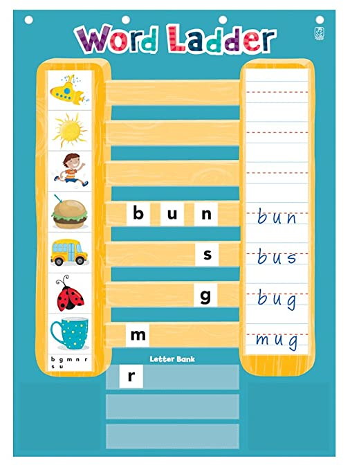 Amazon Educational Insights Word Ladder Phonics Activity Center