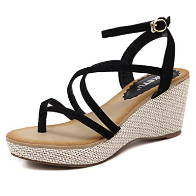 3fbf9e3f3be Amazon.com  DIGOOD Beach Sandals for Women