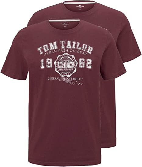 TALLA M. Tom Tailor Doppelpack Logo 2 Unidades. para Hombre