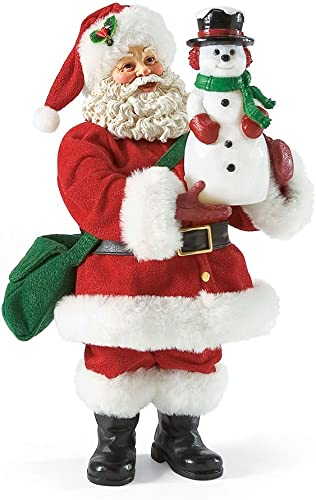 Department 56 Possible Dreams All is Bright Santa, 10 inch