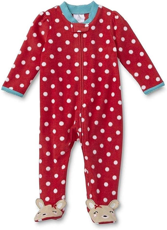 Bornino Schlafoverall Schlafanzug aus Reiner Baumwolle - Baby-Pyjama mit seitlichem Rei/ßverschluss einfarbig//Gemustert 2er-Pack