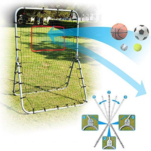 BenefitUSA 48'' x 68'' Baseball & Softball Multi-Sport Rebounder Pitch Back Training Screen, by BenefitUSA